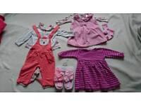 Baby girl bundle 3-6 months Next, jojomama, M&S, mothercare