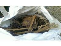 FREE bulk bag of wood for chiminea