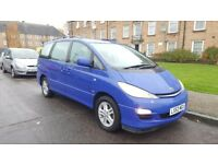 TOYOTA PREVIA D4D 53 PLATE FACE LiFT MODEL MANUAL 7 SEATER MINT CPNDITION IN&OUT DRIVES SUPERB ASAP