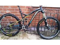 norco sight endurp xc bike (not giant specialized lapierre orange)