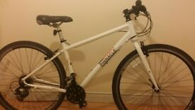 pinnacle mens small hybrid mountain bike