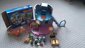 Mike the knight playset