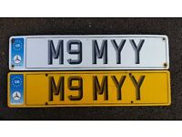 PRIVATE NUMBER PLATE FOR MOMYY. ''M9MYY''. PRICE £800 OR NEAREST OFFER. QUICK SALE REQUIRED.