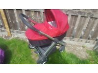 Babystyle oyster pram buggy with accessories