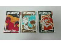 Get Backers vols 1-3 Manga Graphic Novel
