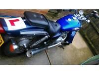 suzuki marauder 125cc blue