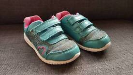 Clarks Girls/Toddlers Trainers - Size 6 1/2