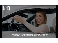 Left Hand Drive Wanted