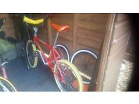 Wanted old bmx Raleigh burner ect