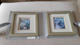 Two impressionist paintings from the Pierre Auguste Renoir collection