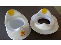 Toddler potty and toilet seat