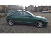 MG ZR + 2.0 DIESEL SPORT LEATHER ALLOYS VERY RARE BRITISH RACING GREEN FSH ZS ROVER GT TURBO R T
