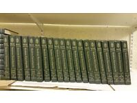 large collection of encyclopedia's