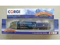 "Corgi ""Rail Legends"" Tornado diecast model locomotive"