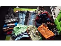 Boys 59 piece clothes bundle age 3-4!