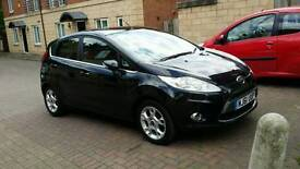 2012 Ford Fiesta 1.4 ZETEC TDCI 5d £20 YEARLY ROAD TAX