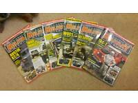 6 Classic Military Vehicle Magazines