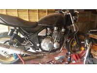 Kawasaki zephyr 1100 project