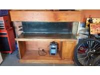 Fish Tank 160l with stand and external filter