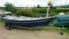 15ft Skiff boat