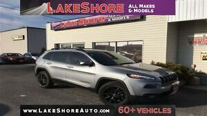 2014 Jeep Cherokee North ALLOY WHEELS CLEAN CARPROOF