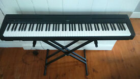 Fully weighted 88 key Yamaha P 45 electronic piano.