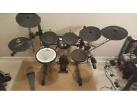 Roland TD-6V Electronic Drum Kit + Extra Cymbal - Excellent Condition