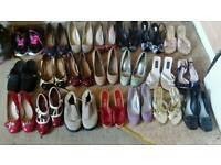 Various women's shoes
