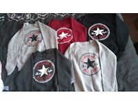 5 Brand new converse jumpers medium/large