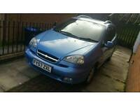 Car - Metallic Blue 2.0 CDI Automatic Chevrolet Tacuma 5 Door Car