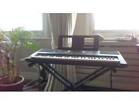 Yamaha PSR E343 Keyboard for sale. Almost new (2 Years old). £80 (orginal price £160).