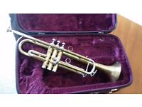 Trumpet and case for sale