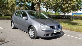 V.W.GOLF 1.9 TDI SE 04 PLATE 2004 3 FORMER LADY OWNERS 112000 MILES SERVICE HISTORY AIRCON ALLOYS