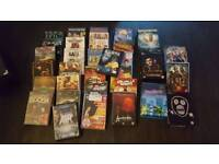 Over 30 dvds 5 or 6 box sets . Swap for an old axe