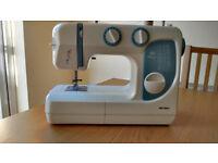 Bush Model DF3024 Sewing Machine, Thread Organiser, Sew Easy Bag