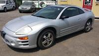 2003 Mitsubishi Eclipse GS, Cert & E. Test  No Charge. Hamilton Ontario Preview