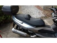 Kymco 500 xciting, silver 2007, very low mileage