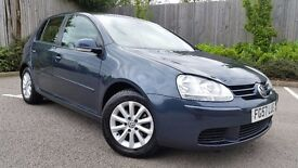 2007 Volkswagen Golf 1.9 tdi Match with low mileage