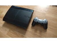 Sony PS3 superslim 500 gb + 10 games