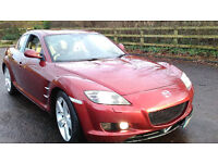 MAZDA RX8 EVOLVE 232 BHP LOWER TAX BAND