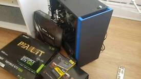 HIGH END GAMING PC, 6 CORE i5, GTX, LARGE SSD, QUIET COOLING, DDR4 RAM