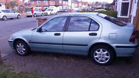 Very nice low mileage Honda civic Hatchback 1.4 Automatic £450