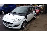 FOR SALE SMART FORFOUR,2005 1.1 MANUAL,1 YEAR MOT ,AIRCON,PANORAMIC GLASS ROOF,GOOD RUNNER