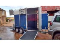 Ifor Williams RARE SINGLE HB40 1R horse trailer , aluminium floor, excellent condition, kept in shed