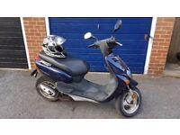 Yamaha YN50 Neos Moped - Blue - 50cc - 2001
