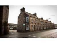 Ground floor amenity flat, suitable for a couple or single person available now in Rothes
