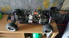 Rc car petrol yama 26cc buggy for sale