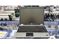 HP EliteBook, 14'' screen, Intel Core 2 DUO 2.40 GHz, 128GB SSD, HDD, WIFI, DVD, Windows 7 PRO