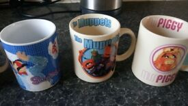 Vintage muppet mugs