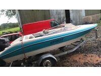 90hp 18ft spirit speed boat speedboat